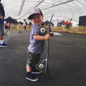 Photo/community / Children only who love sports got  smile like this ...XDWyatt ...
