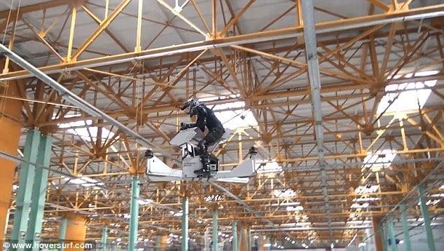 全球第一輛懸浮摩托車真的飛上天了 - 科技新報 TechNews