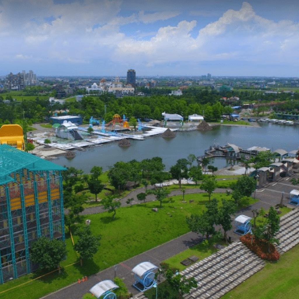 水上鋼鐡人場域 宜蘭冬山河