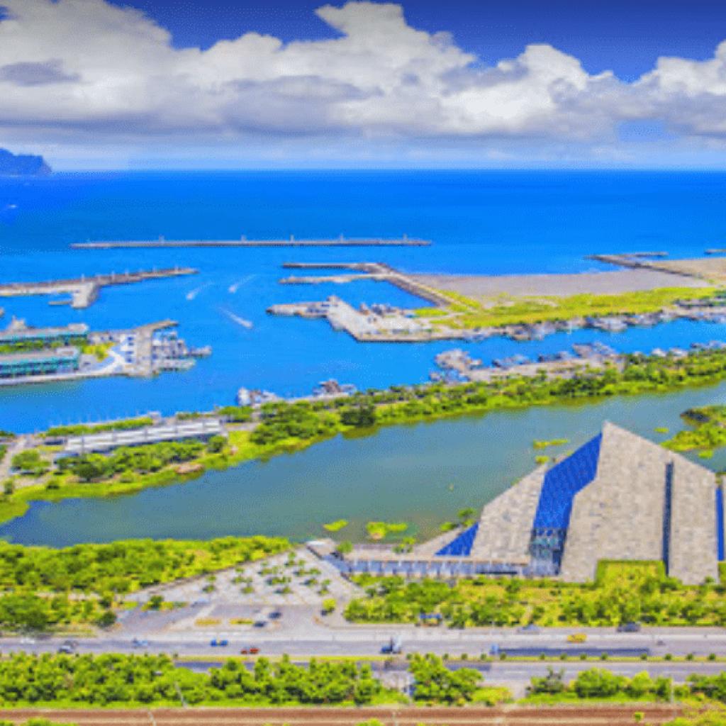 水上鋼鐡人場域 宜蘭烏石港