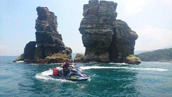 台灣太美了!水上摩托車1072公里環島 - 生活 - 自由時報電子報