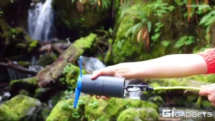Community / life style / portable water power generatorA por...