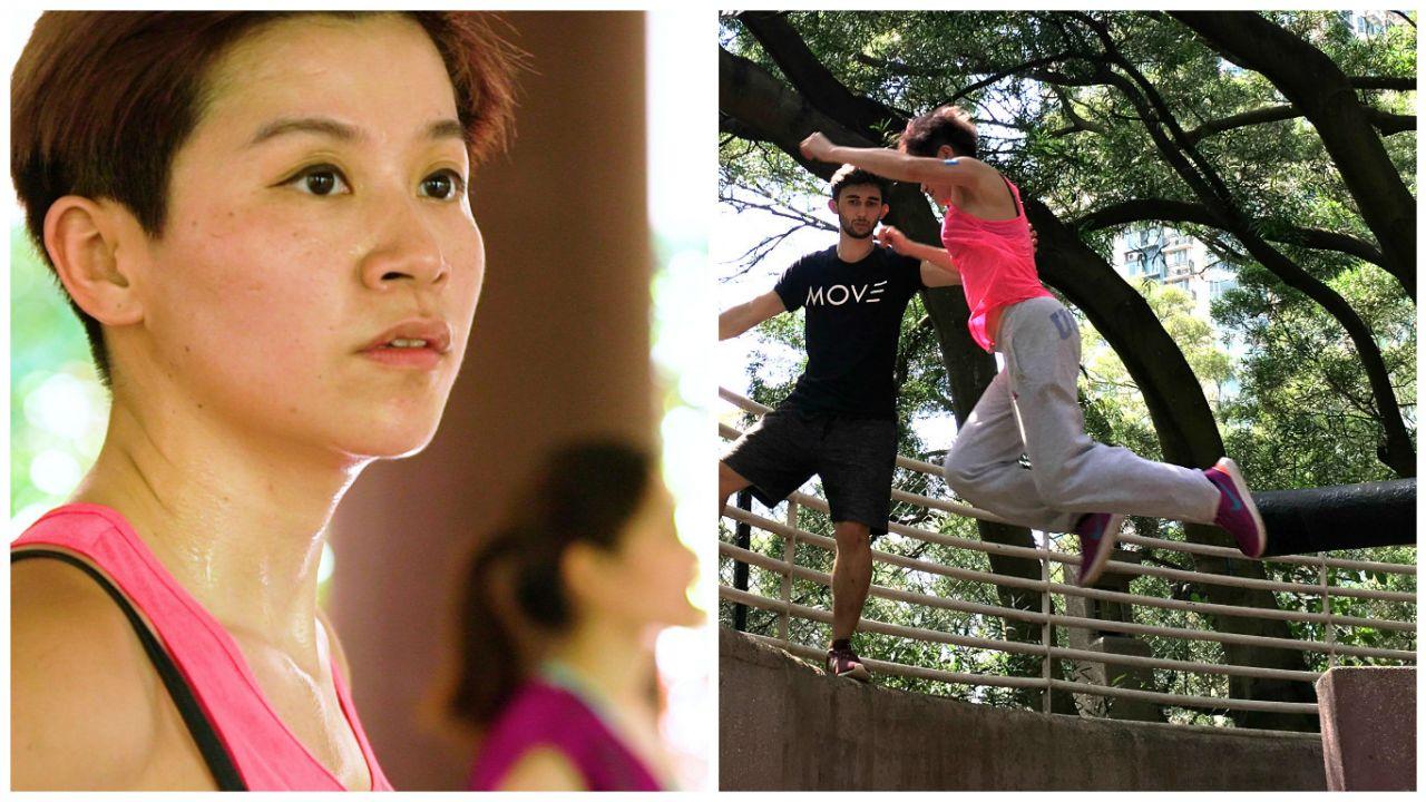 【跑酷】挑戰男性主導的極限運動女生:要有勇氣克服恐懼 – 香港01