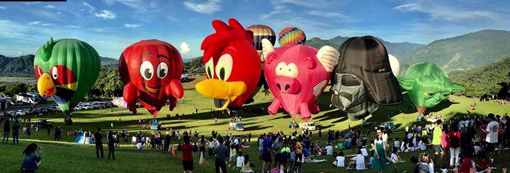 Community Photo / Flight / Hot Air Balloon @臺東市我們在臺東! 天際航空歡迎…