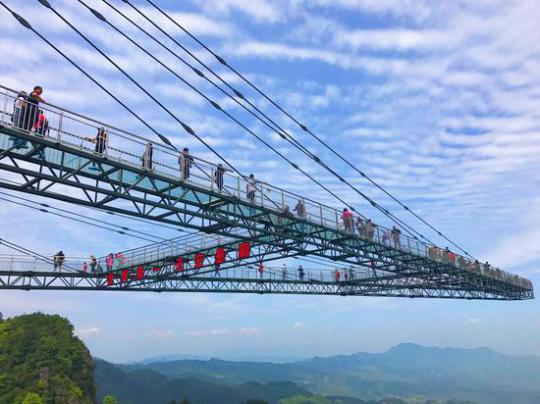 刺激腎上腺的極限運動重慶天空懸廊引全球關注 – 臺灣新浪網