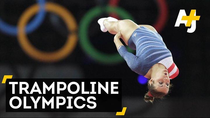 Video / 蹦床是奧運項目?!#蹦床  #彈跳躲避球 #trampoline  #dodgeballD…