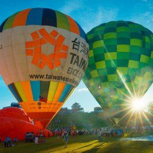 2017台東熱氣球嘉年華 Taiwan International Balloon Festival In 4K