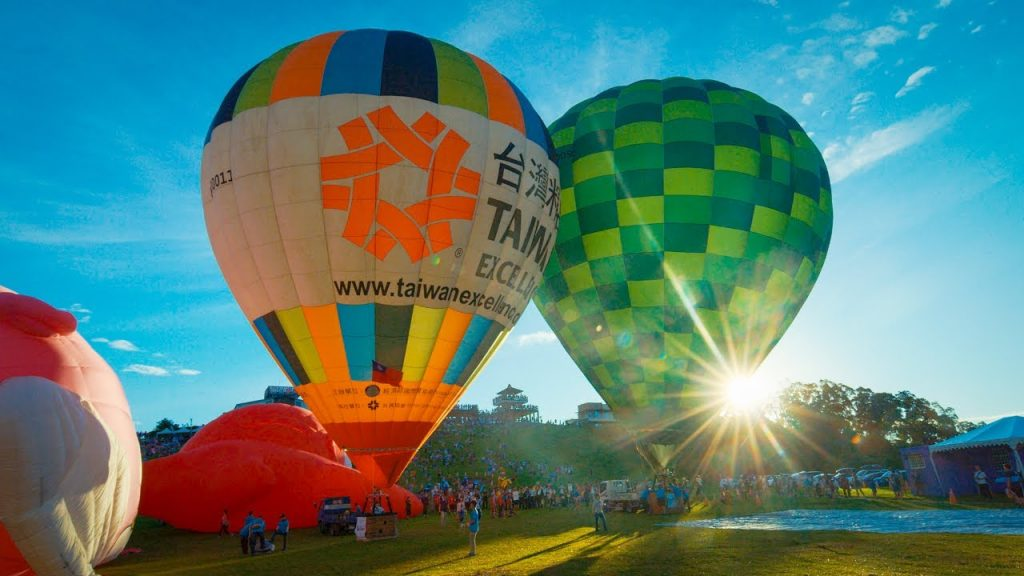 2017台東熱氣球嘉年華 Taiwan International Balloon Festival In 4K