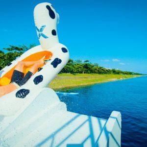 台東水上彈跳包 VS 極限飛梯Blob Jump meets Flying Slides in 4K