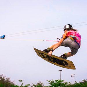 台東活水湖CAMP纜繩滑水 Flying On Water - Cable Wakeboard In Flowing Lake HD1080
