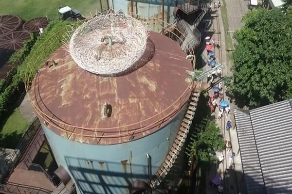 台南舊糖廠推自由落體7層樓高挑戰心臟| 蕃新聞 – 蕃新聞
