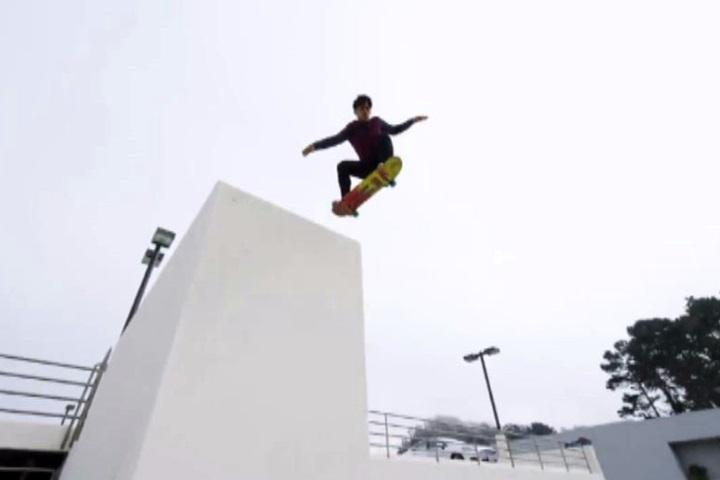 結合跑酷與滑板舊金山街頭挑戰運動極限 – 民視新聞