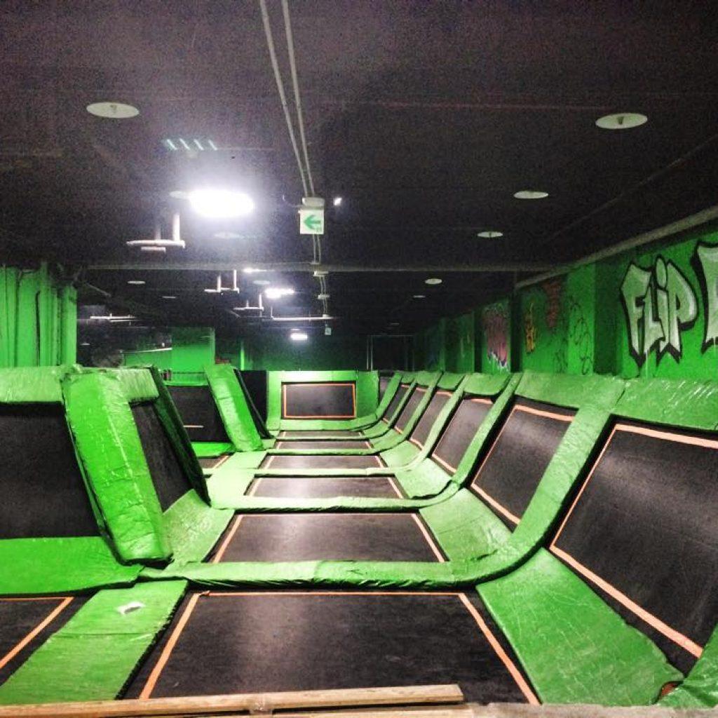彈跳床 台北市-中山區 跳跳床樂園 FlipOut