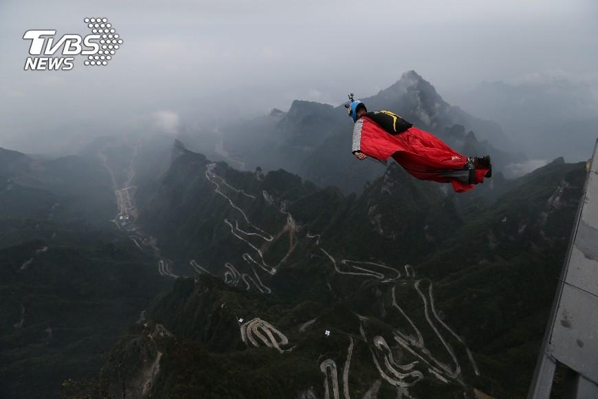 空中連環穿靶翼裝世錦賽張家界登場 – TVBS新聞