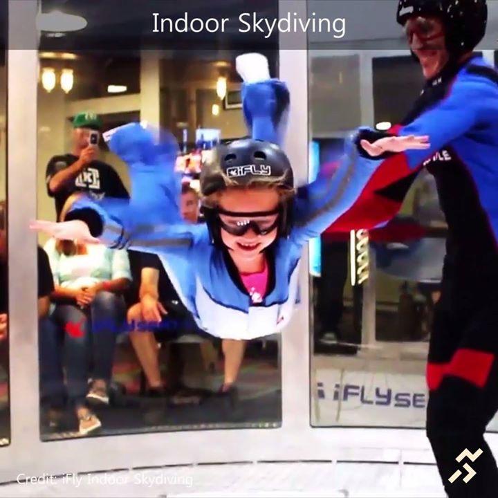 Community Video/ 飛機跳傘員的練習室 , 室內跳傘( 風洞飛行 )  也能讓你淺嚐飛機跳傘感覺, sky…