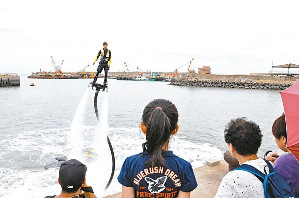 水上鋼鐵人翻進竹圍音樂趴 – udn 聯合新聞網