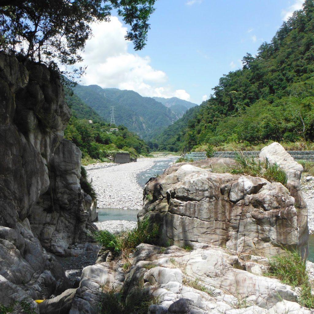 攀岩 天然岩場 台中谷關|麗陽岩場