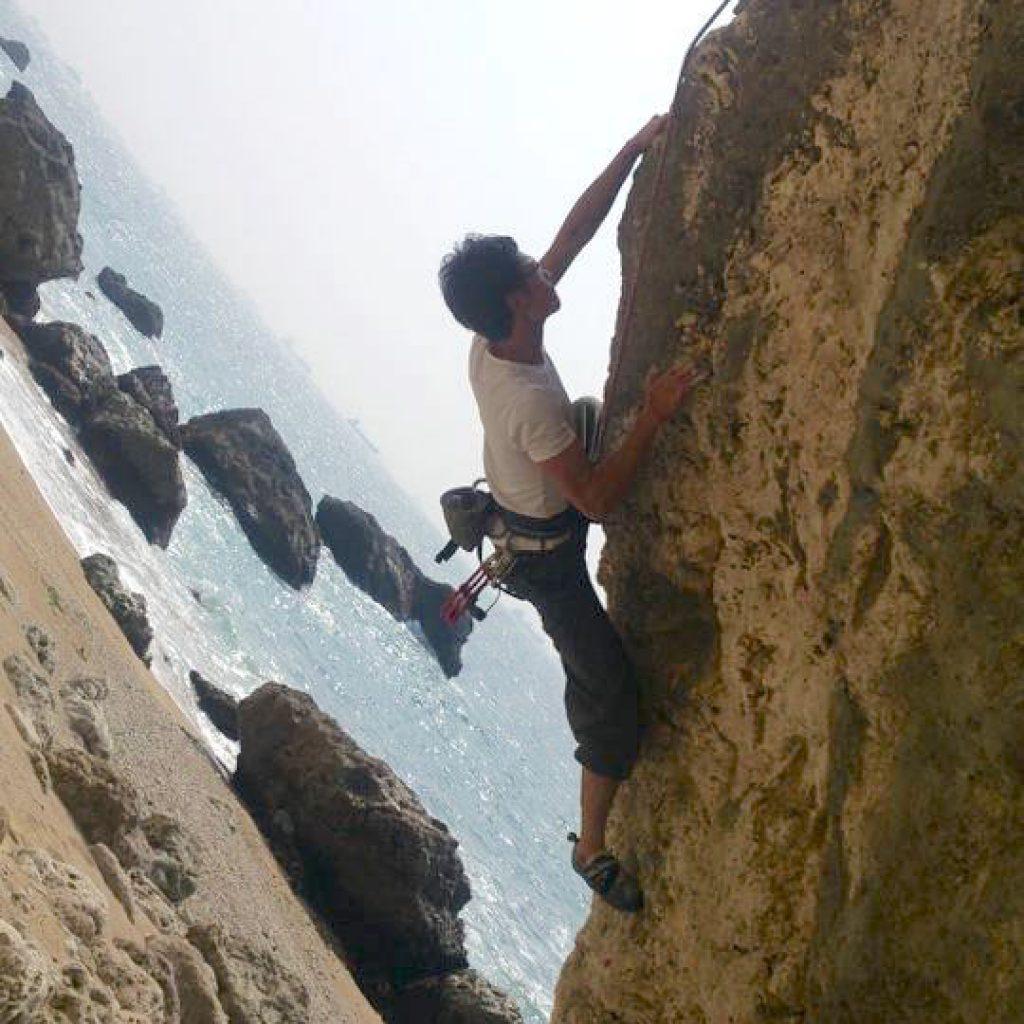 攀岩天然岩場-高雄-西子灣