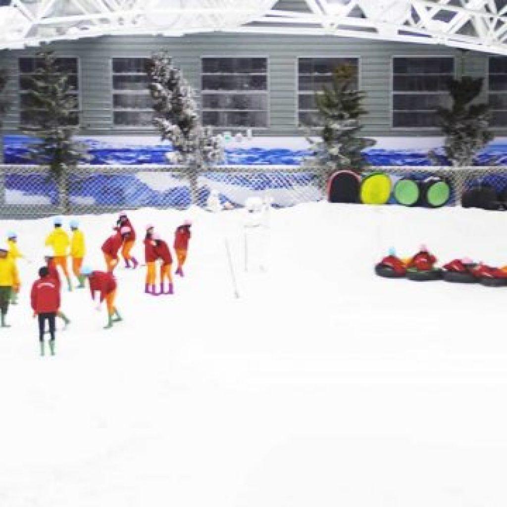 小叮噹科學主題樂園 北海道滑雪場