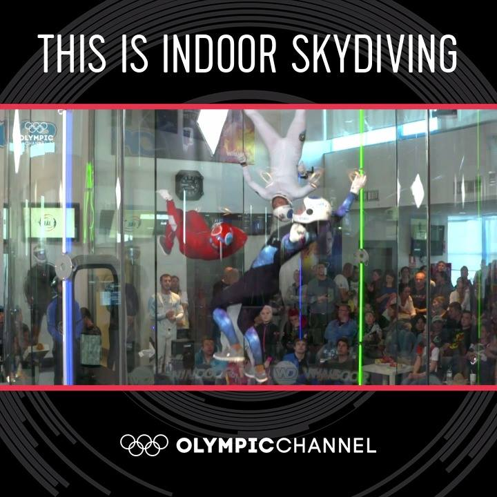 Community video / indoor sky diving showDo you know what #In…