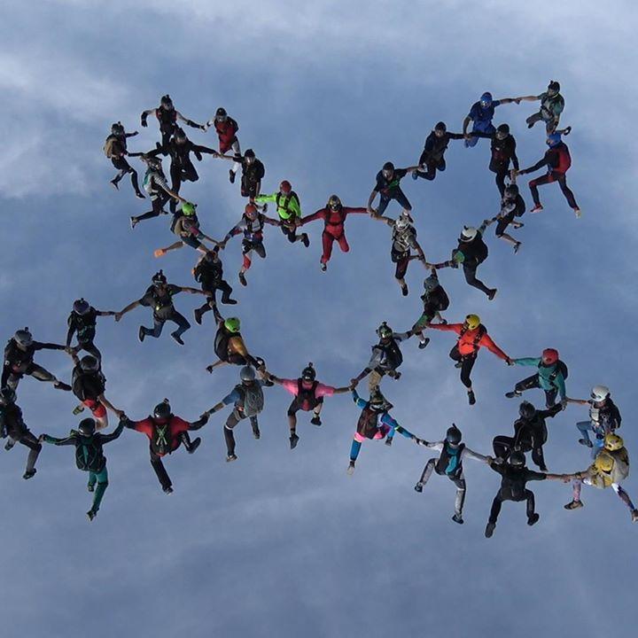 CommunityVideo/Night  #SkydivingDay vs. night skydiving! ?? …
