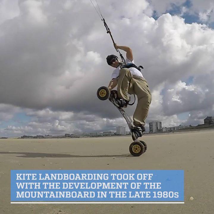 Video / #kiteLandBordingHave you tried kite landboarding yet…