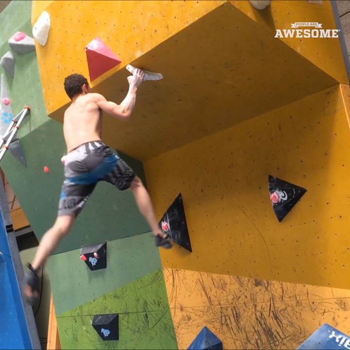 CommunityVideo/ #rockClimbing / they r real awesome !The pai…