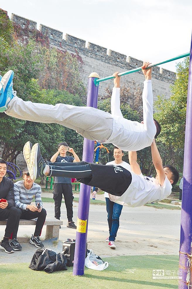 街頭極限健身力抗地心引力 – 中時電子報 (新聞發布)