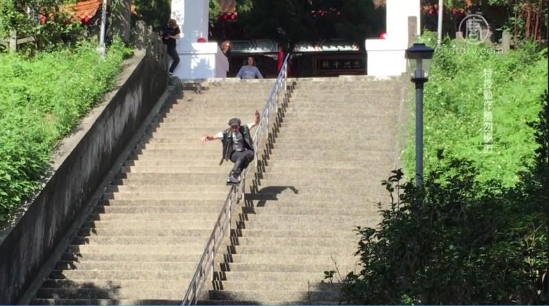 德國極限玩家拍片記錄台灣之美 – NTDTV
