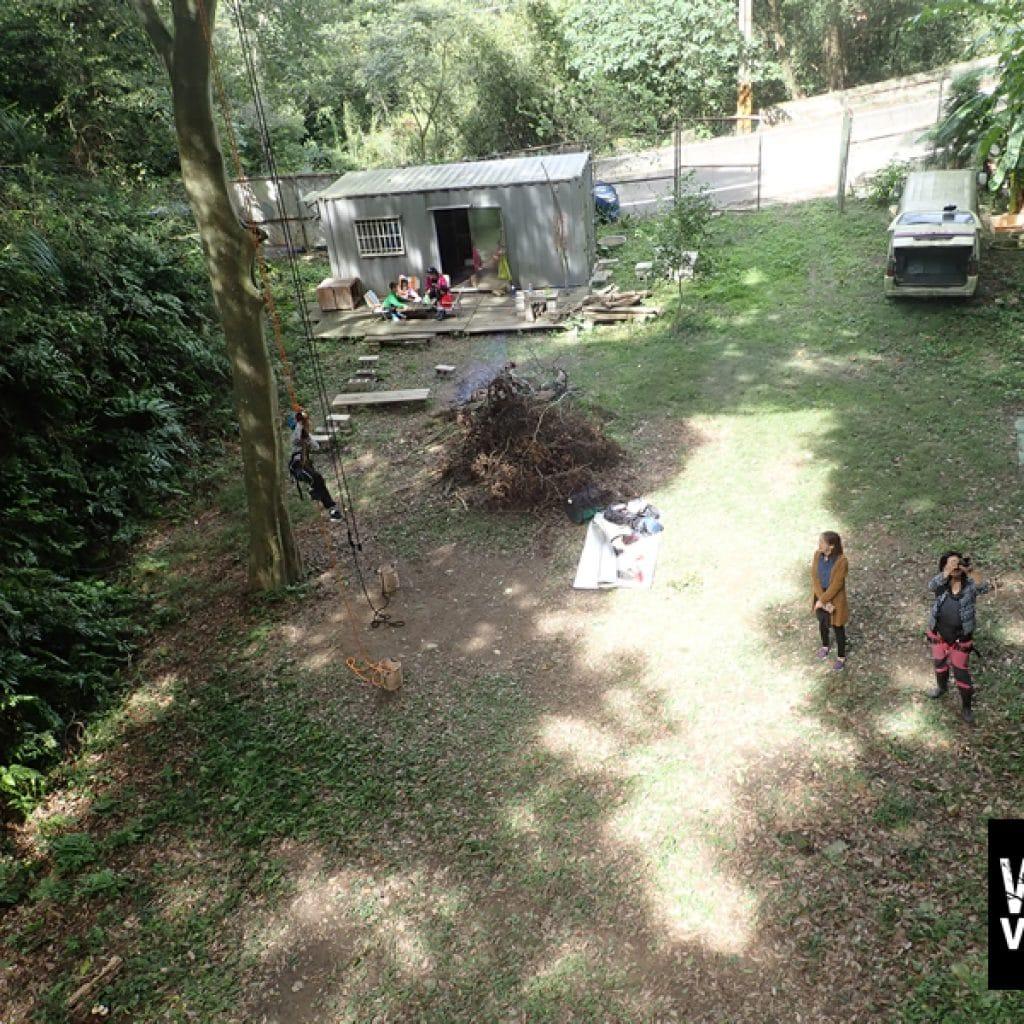 攀樹-場域-新竹風之谷攀樹訓練中心