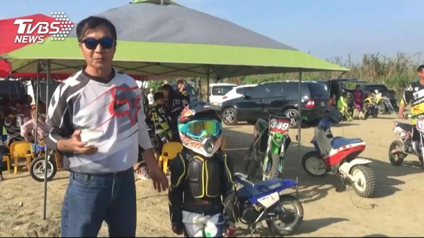 練膽量!4歲小車手騎越野車裝備逾4萬元