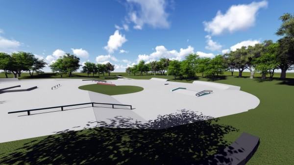 中市府推廣滑板運動3公園增設滑板場