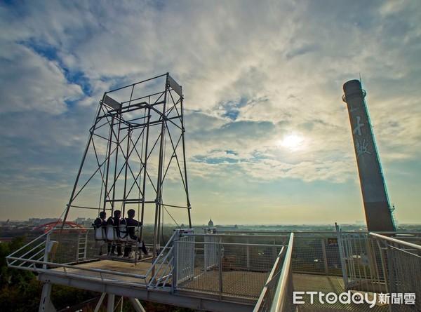 11樓高「天堂鞦韆」挑戰懼高極限台南十鼓3大必玩刺激設施