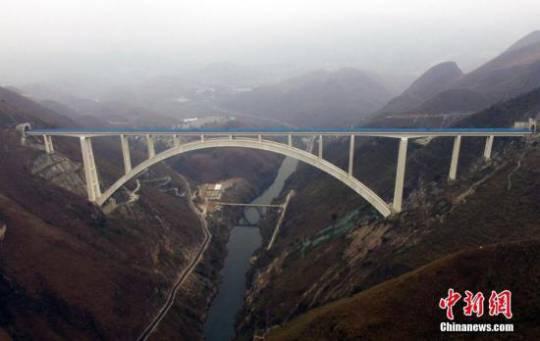 北盤江特大橋「橋樑醫生」的極限運動