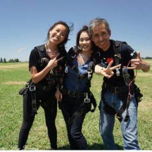 一生至少要跳一次的極限運動~Sky Diving in Acampo 在美國西岸 阿坎珀跳傘~