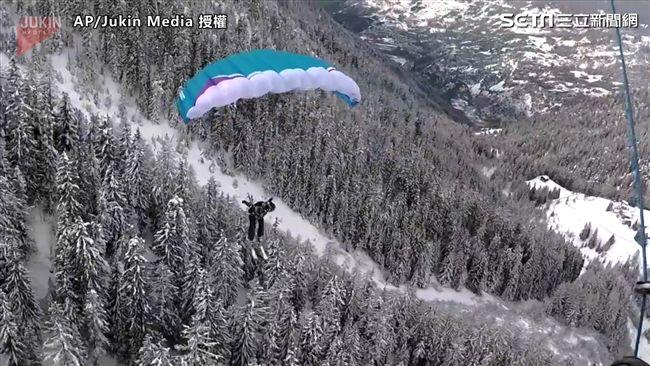 影/勇敢逐夢!成為風中的運動員降落傘滑雪這樣玩