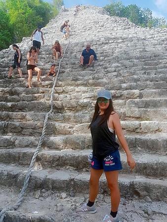 ▲▼墨西哥COBA瑪雅金字塔。(圖/Lowei 醫起美旅活提供,請勿任意翻攝以免侵權)