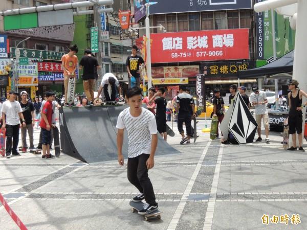 竹市首座標準滑板賽事公園3月動工、年底啟用