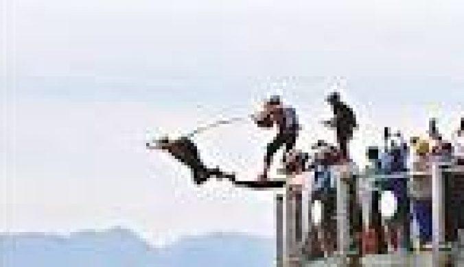 頂級低空跳傘賽重慶開幕