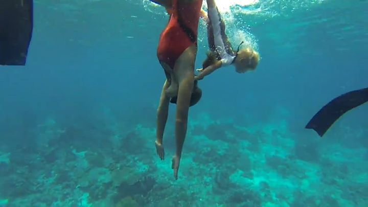 Community video /  #freediving / The youngest freediver in w...