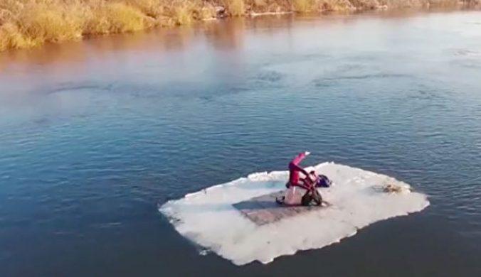 高難度雙人瑜珈冰上唯美展現力與美