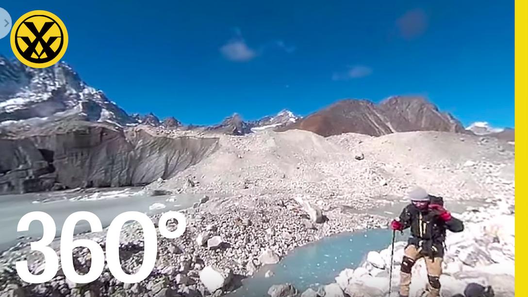 〔 極限VR 〕360 Trekking in Himalayas