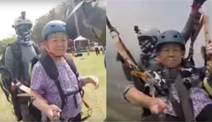 89歲勇嬤玩「這個」!讓網友都跪了