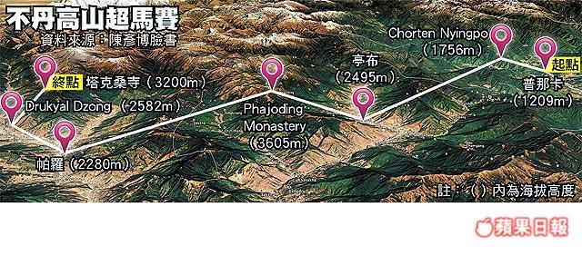 1527979689 972 6天跑不丹高山200公里雙腳破皮見肉陳彥博極限之王