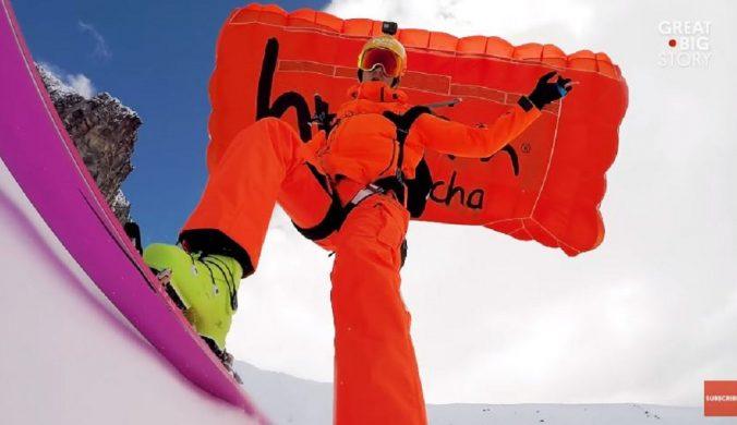 驚險刺高山滑雪克服恐懼挑戰極限