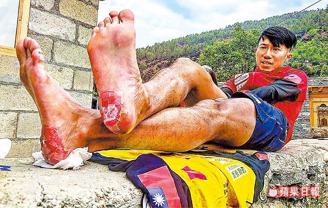 6天跑不丹高山200公里雙腳破皮見肉陳彥博極限之王