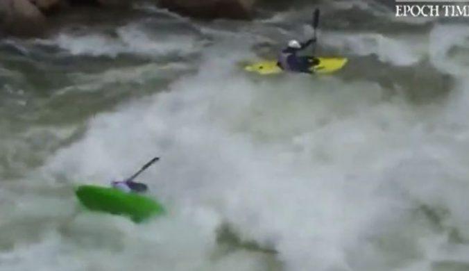 你敢玩嗎?穿梭驚險的激流中峽谷間皮划艇挑戰無極限