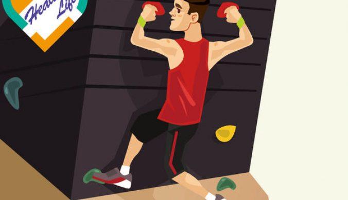 攀石練身體協調防受傷要識「跌」