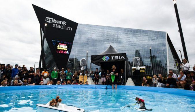 美國極限運動比賽開幕滑水松鼠先獻技