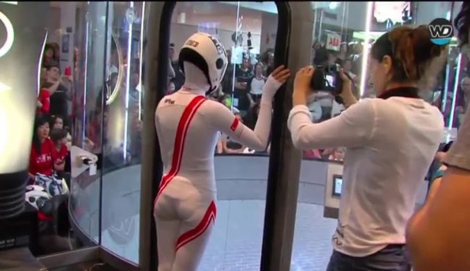 How beautiful!#indoorSkydiving  #BodyFlight #Communit…